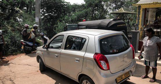 Mietwagen- und Führerscheinchaos in Sri Lanka
